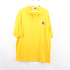 90s Cincinnati Reds Mens XL Security Polo Shirt
